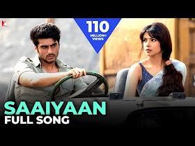 Saaiyaan - Full Song   Gunday   Ranveer Singh   Arjun Kapoor   Priyanka Chopra   Shahid Mallya