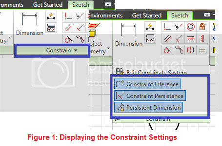 locating constraint settings