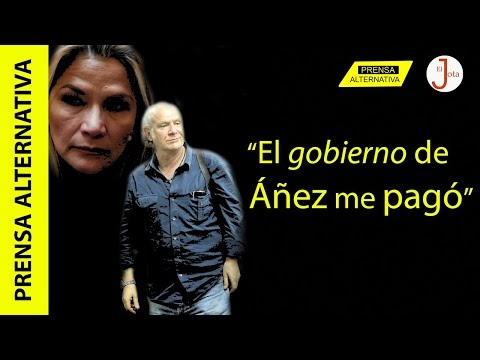 Periodista cobró dineral para defender dictadura de Jeanine Áñez!