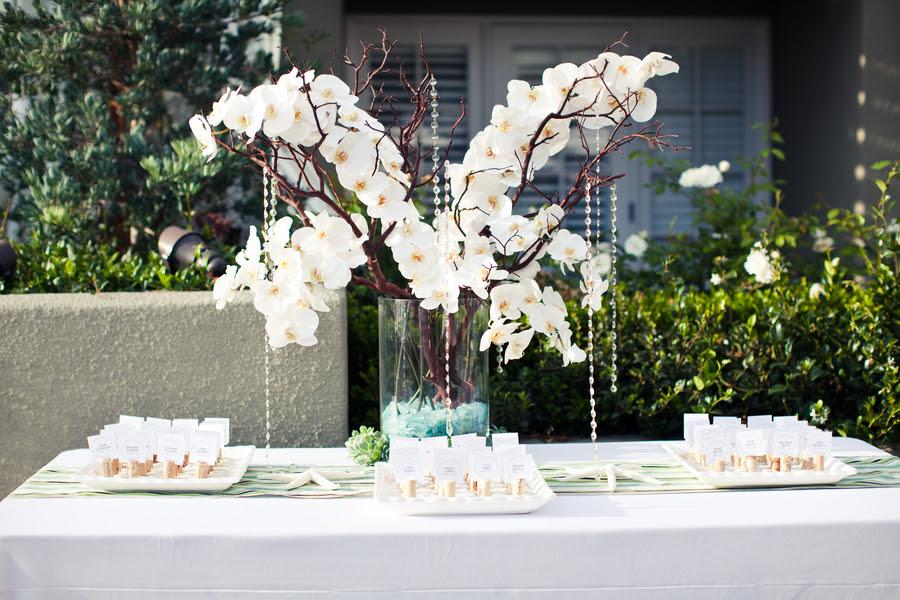 Modern White, Green & Aqua Wedding - Every Last Detail