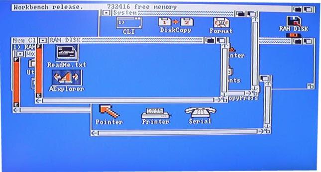 Pantalla Aexplorer en Amiga - 1