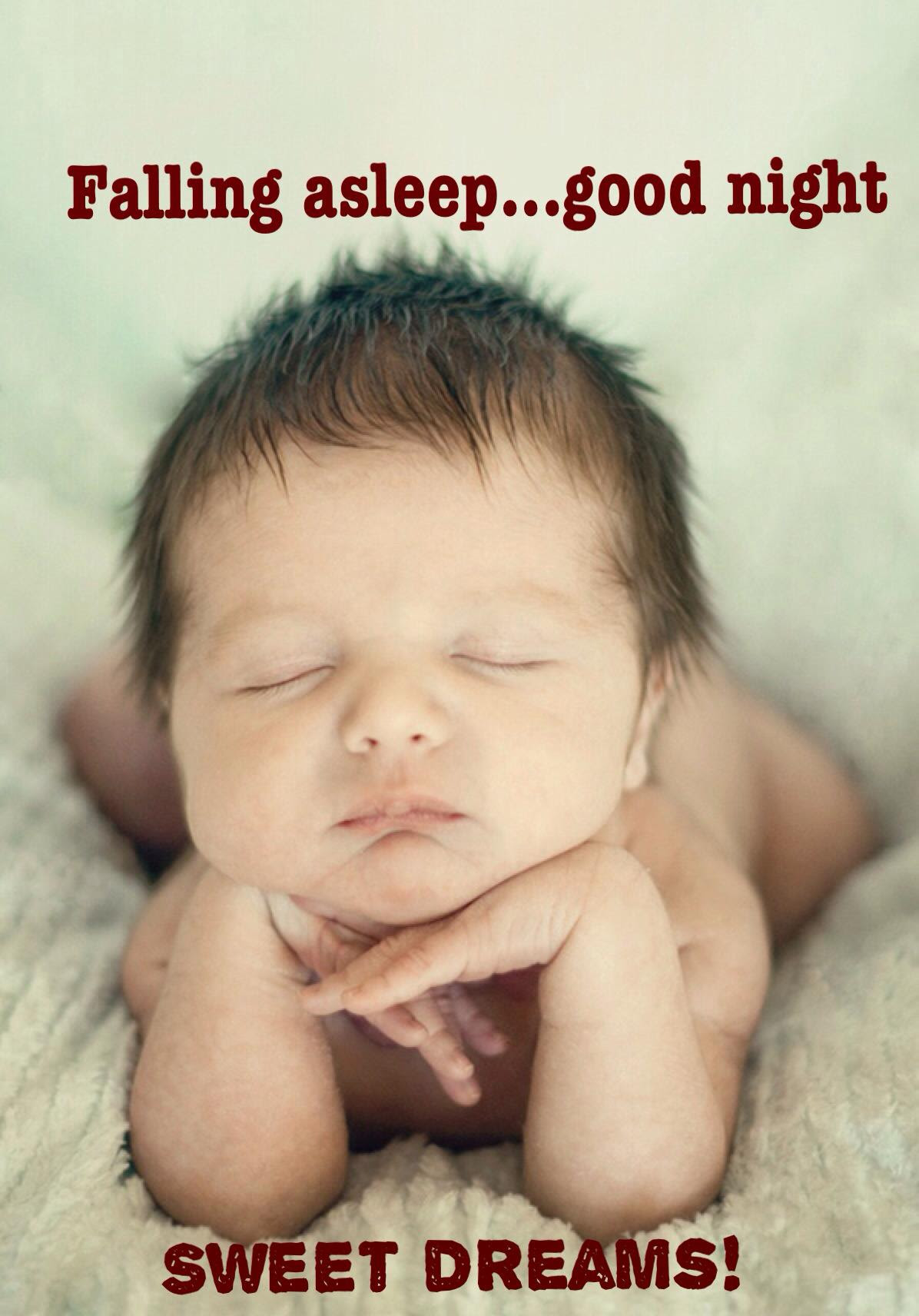 Falling Asleep Goodnignt Cute Pics Of Babies With Funny Quotes