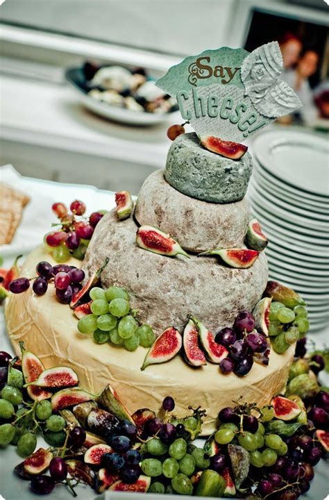 Wedding cake alternatives: Cheese wheel cakes galore