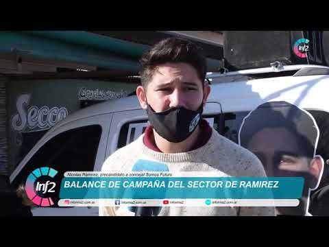 """Ramirez: """"Últimamente la gente usa al politico y no el politico a la gente"""""""