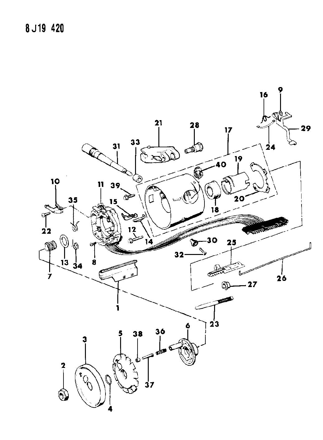 Yj Steering Column Wiring Diagram