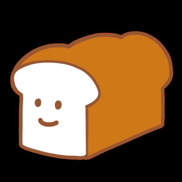 パンのキャラクターのイラスト かわいいフリー素材が無料のイラストレイン