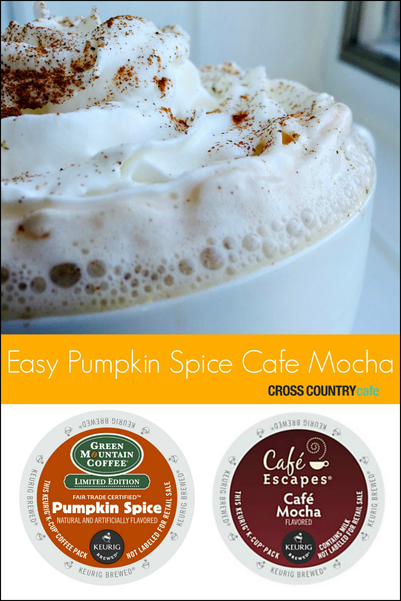 Easy Pumpkin Spice Cafe Mocha Recipe
