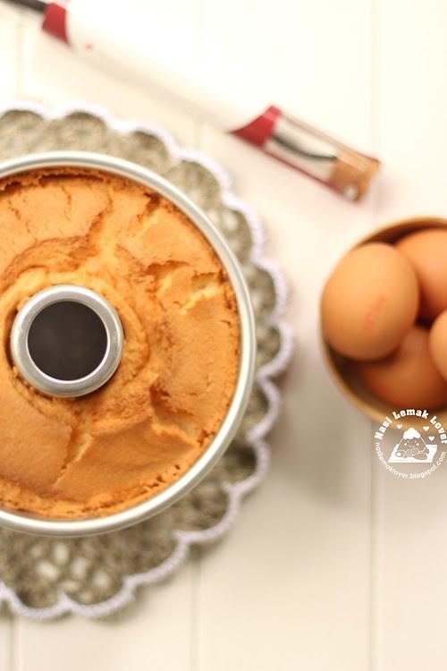 Nasi Lemak Lover Pure Vanilla Chiffon Cake 香草戚风
