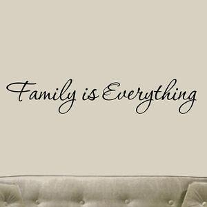 Vinyl Family Wall Quotes   eBay