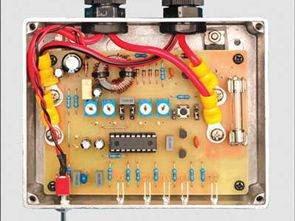 Kiểm soát sạc pin 12V (SLA axit chì)