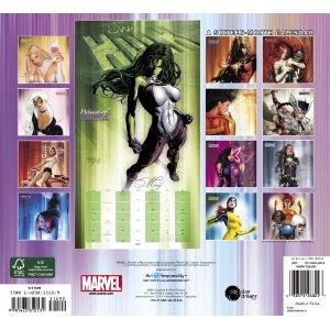Women of Marvel 2012 Calendar