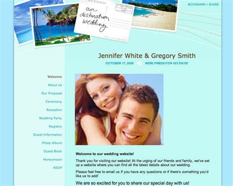 Wedding Planning 101: Build An Awesome Wedding Website!