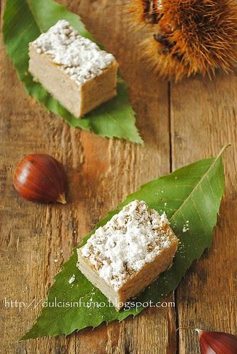 Torta di Castagne Senza Glutine-Gluten Free Chestnut Cake