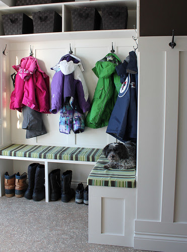 mudroom finished #mudroom #renovation