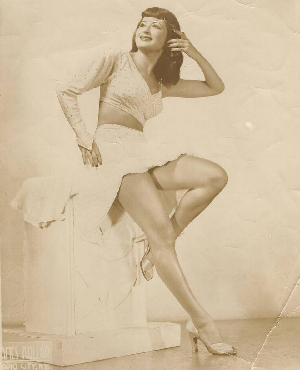 Iris Marks as a dancer.
