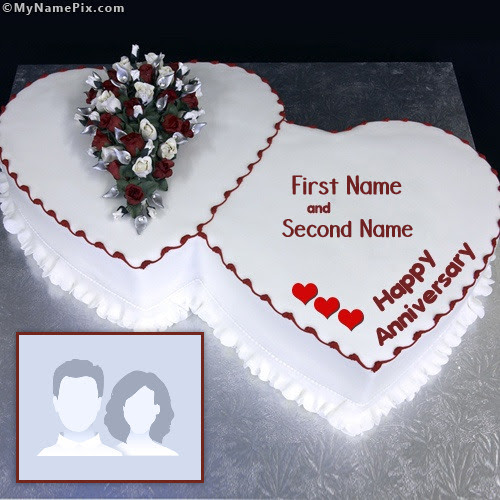 Marriage Anniversary Cake Images With Name Miloficom For
