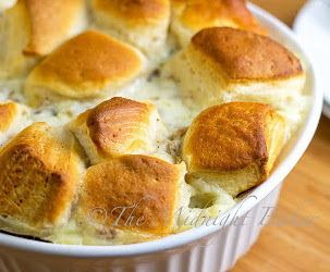 Southern Biscuits + Gravy Casserole