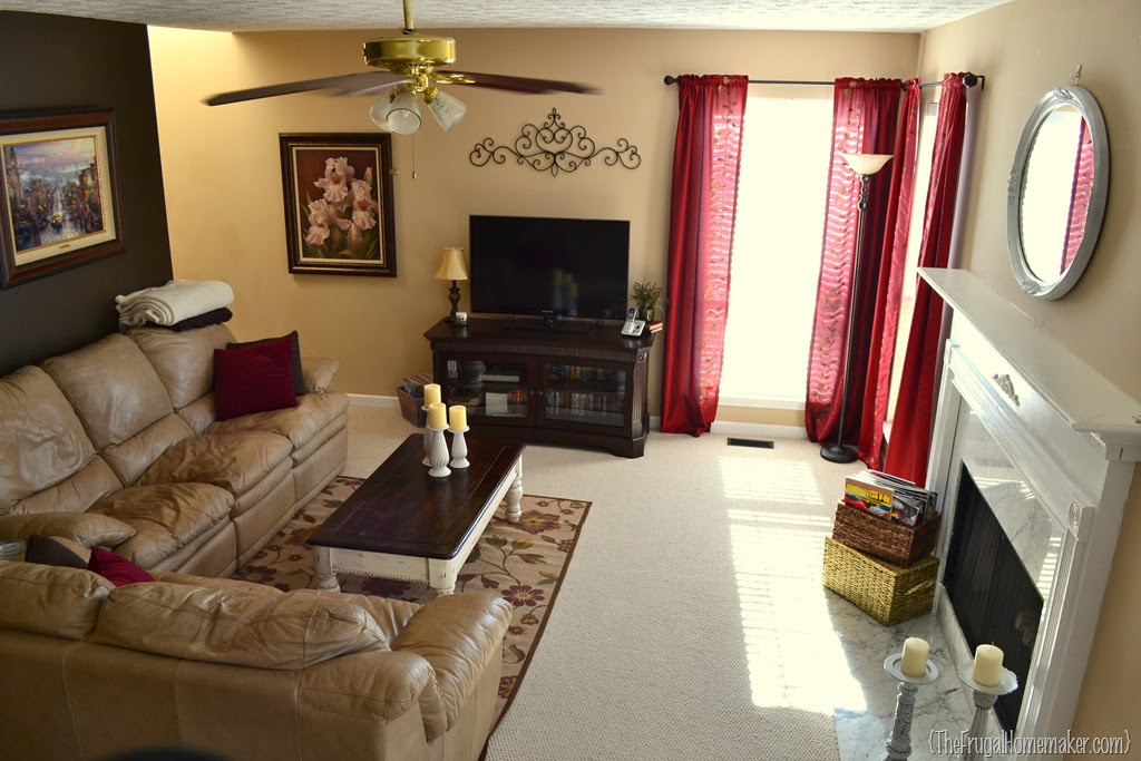 Simplify… living room