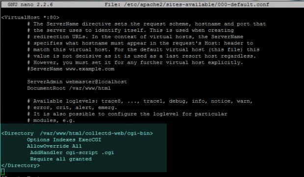 Enable CGI in Debian