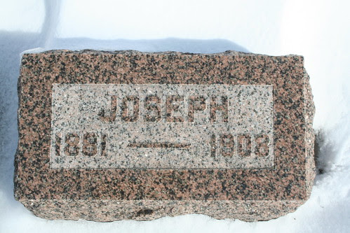 Tombstone of Joseph Fowlie