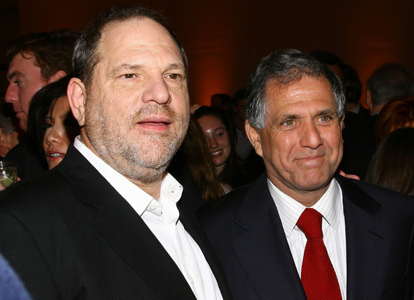 Image result for moonves weinstein