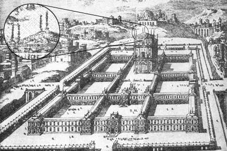 Αναπαράσταση του Ναού του Σολομώντα στην Ιερουσαλήμ.