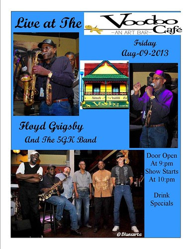 Floyd Grigsby & the 5G Band, Shreveport by trudeau