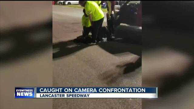 Image result for Police: two security officers to be charged in Lancaster Speedway fight