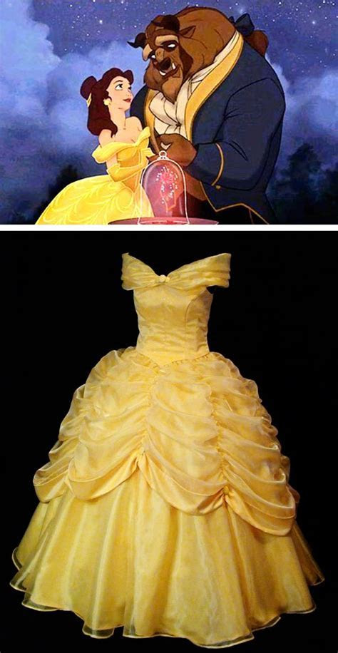 Beauty and the Beast Belle Classic Yellow Gown   The Beast