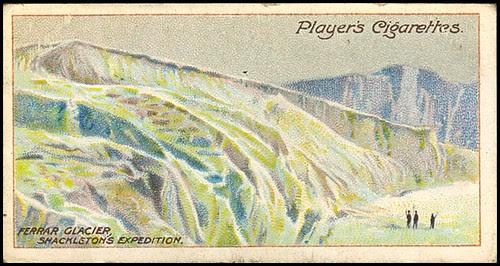 Ferrar Glacier, Shackleton's Expedition