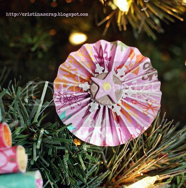 Rosette ornament