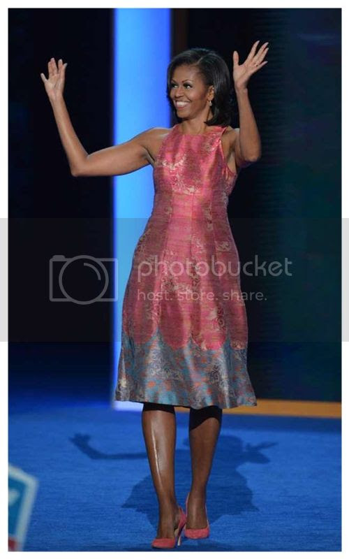 Michelle Obama Democratic Convention Dress by Tracy Reese