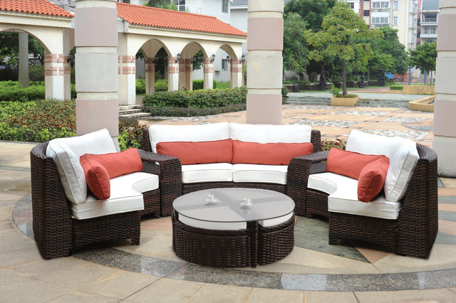 Modern Wicker Sectionals - - patio furniture and outdoor furniture ...
