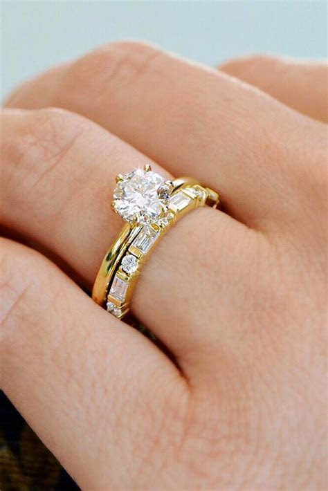 27 The Best Yellow Gold Engagement Rings From Pinterest