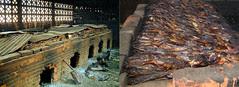 Gambia - fish smoking oven