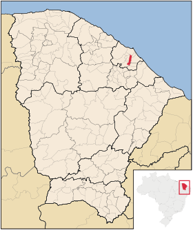 Localização de Itaitinga
