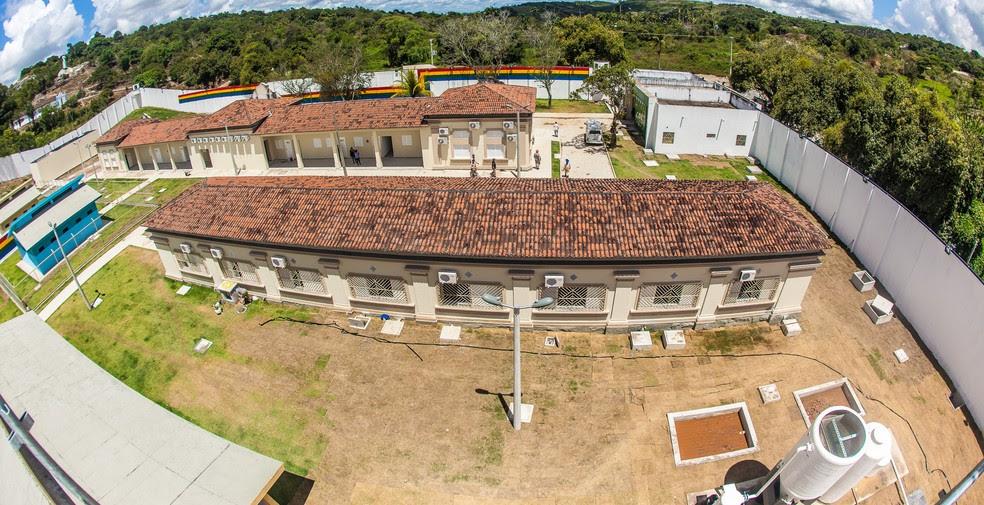 Tumulto foi registrado no Case de Vitória de Santo Antão, na Mata Sul de Pernambuco (Foto: Mauro Filho/Funase)