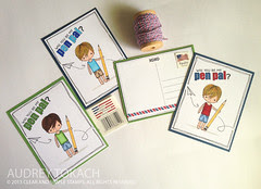 Pen Pal Postcards