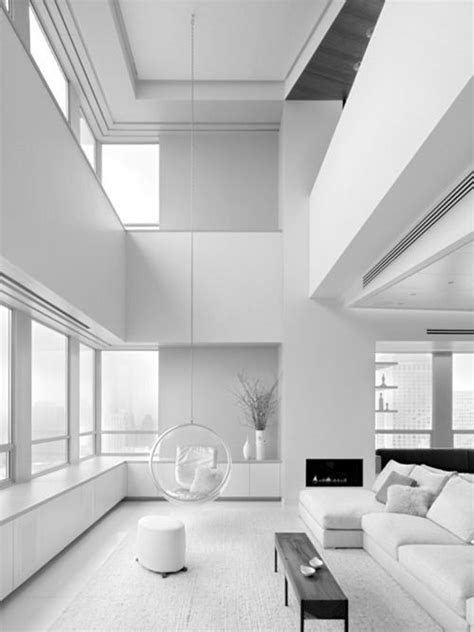 All Shades Of White: 30 Beautiful Living Room Designs