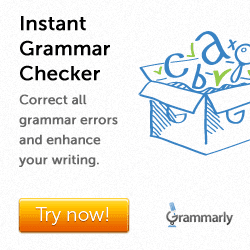 Correct all grammar errors with Grammarly!