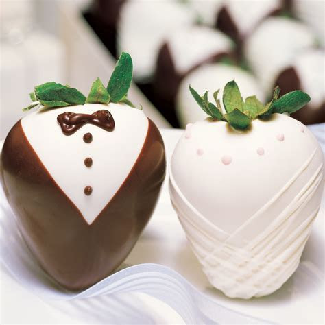 Shari?s Berries Featuring Bride and Tuxedo Gourmet