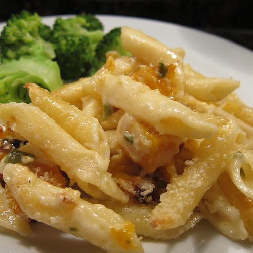Butternut & Jalapeno Mac & Cheese