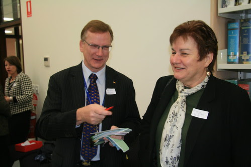 Philip Keane and Dagmar Cookes