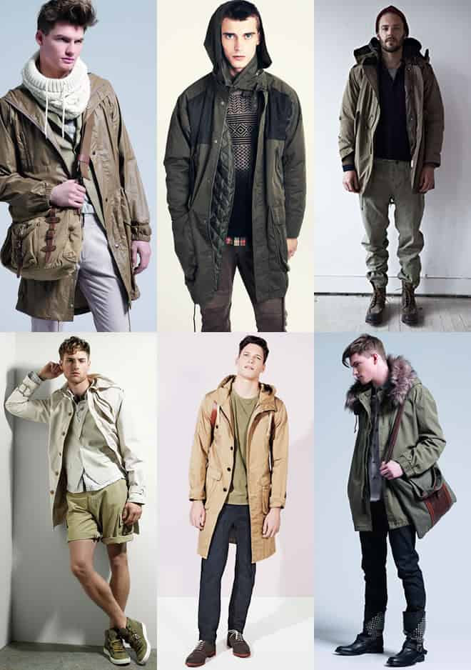 Men's Parka Lookbook