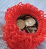 clf caddy - coins