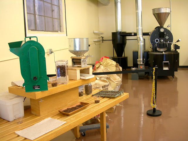 Inside the Cocoa Roastery