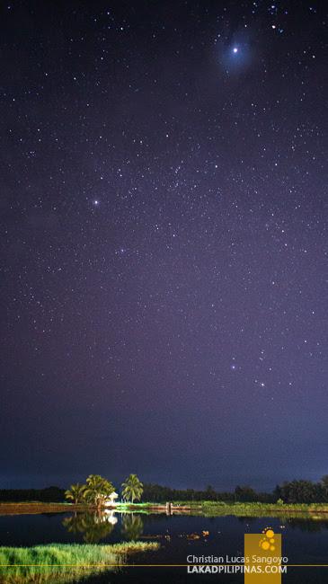 The Night Sky at Maribert Inland Resort in Pontevedra, Capiz
