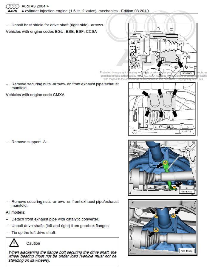 audi  service repair manual  blog repair manual auto