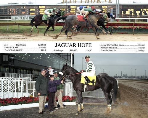 Jaguar Hope Win Photo
