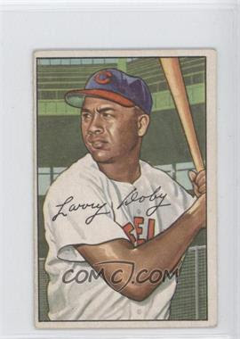 1952 Bowman #115 - Larry Doby - Courtesy of CheckOutMyCards.com